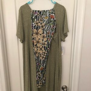 Lularoe NWT Carly and Leggings Outfit 3XL